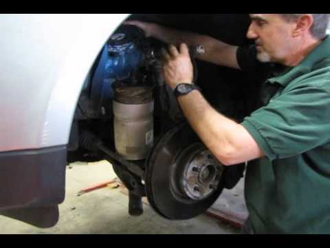 Land Rover Discovery 4 Wiring Diagram Neff Oven Element How To Replace The Air Shock Strut Assembly On A