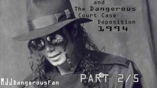 Michael Jackson and the Dangerous Court Case Deposition 1994 - Part 2/5