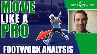 TENNIS FOOTWORK: How To Move Like A Pro (Slice Backhand Footwork Tip)