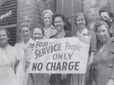 The Ladies of the Connellsville Canteen