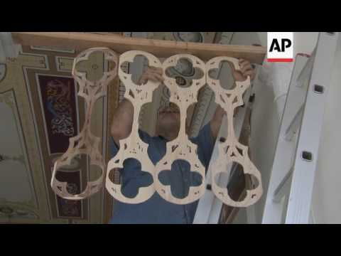 Man creates house from 45 destroyed Beirut homes