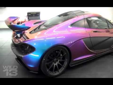 BMW, Lambo, McLaren, Porsche, Audi Changing Colors With Water   YouTube