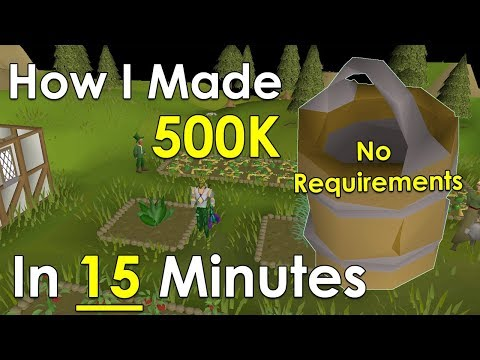 How To Make 2M/HR Buying Supplies From A Shop [Old School Runescape]