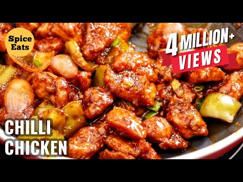 CHILLI CHICKEN | CHILLI CHICKEN RECIPE | RESTAURANT STYLE CHILLI CHICKEN