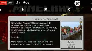 Directo vivo Jugando Subs Supervivencia Minecraft PE 1.16.1