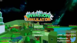 Roblox - Invasion Simulator (beta)