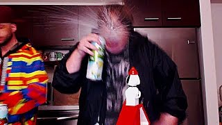 Andy Milonakis Spits Alcohol All Over His Laptop! Funny!