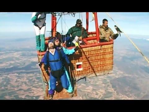 Falcon Vs Skydiver | Ultimate Killers | BBC