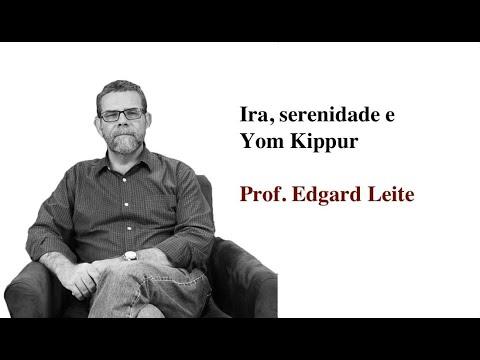 Conferencia de Edgard Lie na PUC: Ira, serenidade, Yom Kippur