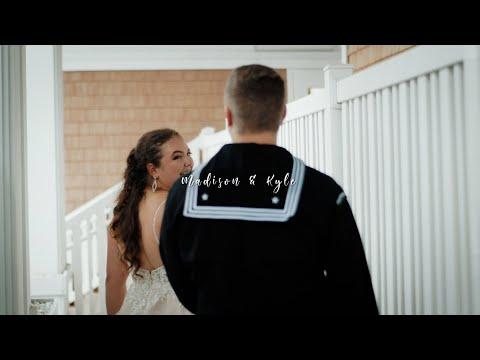 Madison & Kyle Wedding Highlight Teaser   The Gala 417   Virginia Beach, VA