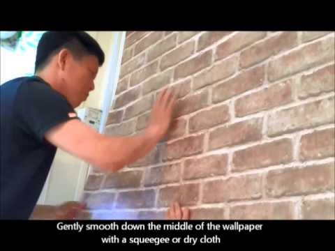 How To Apply Self Stick Wallpaper