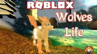 ROBLOX WOLVES' LIFE 3 OCEAN & DRAGON SKINS PACK! HOW TO DESIGN MY WINGED DERPY AQUA WOLF!