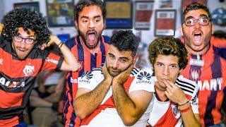 REACCIONES de Amigos | River 0 San Lorenzo 1 | Torneo Argentino 2019 thumbnail