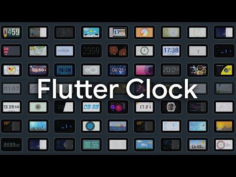 Flutter Clock Highlight Reel