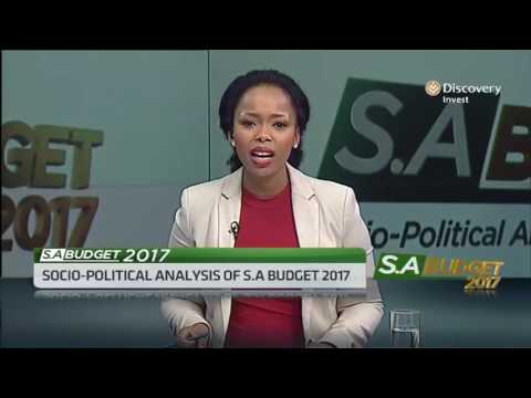 Socio-Political Analysis of Budget of S.A's Budget 2017