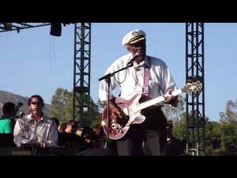 Chuck Berry Live at Hootenanny 2010