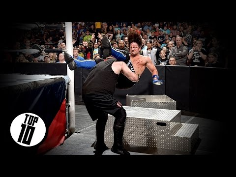 WWE TOP 10 : Kevin Owens | Pop Up Powerbomb | HD