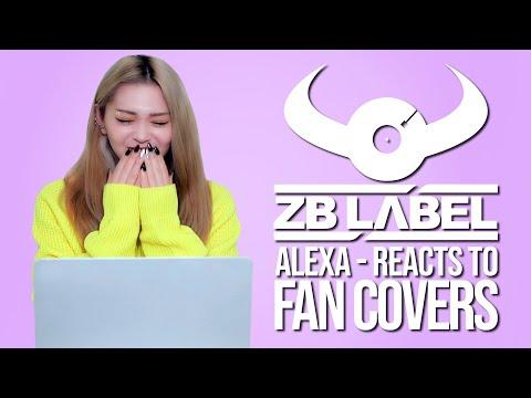 "AleXa Reacts To ""Bomb"" Fan Covers"