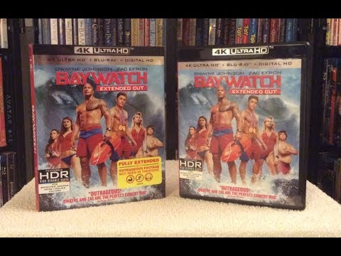 Baywatch 4K BLU RAY UNBOXING + Review - Dwayne Johnson