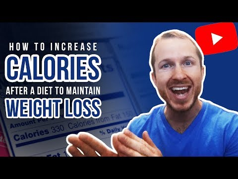 Weight Maintenance Diet | How To Increase Calories After A Diet To Maintain Weight Loss