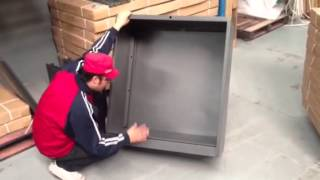 How To Assemble Ane Built Lateral Filing Cabinet Part 1 Of 2