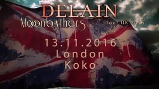 DELAIN – Tour Announcement UK   Napalm Records
