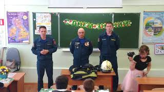 Второй урок ОБЖ в школе The second lesson OBZH in school