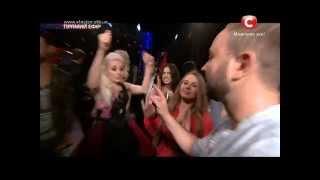 «Х-фактор-5» / Ирина Василенко - Как это было/Пятый прямой эфир(06.12.2014)