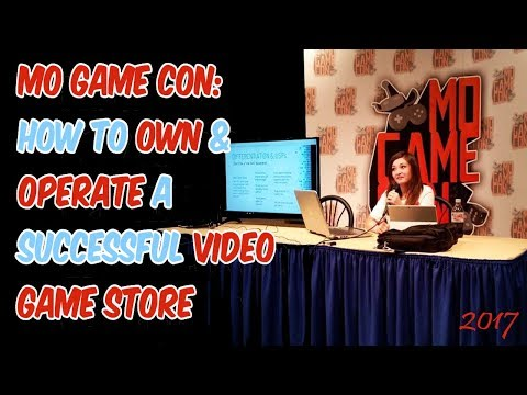 How to Own and Operate a Successful Video Game Store - Kelsey Lewin's Panel at MO Game Con