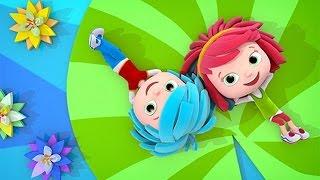 Yo Yo cartone animato per bambini gemelli