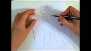 Рисуем быстро и просто.Как нарисовать Снежную королеву.(Это видео уроки рисования для детей, с помощью которых можно нарисовать рисунок даже без навыков рисования., 2015-10-26T13:08:09.000Z)