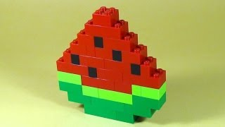 How To Build Lego Watermelon - 6177 Lego® Basic Bricks Deluxe Projects For Kids