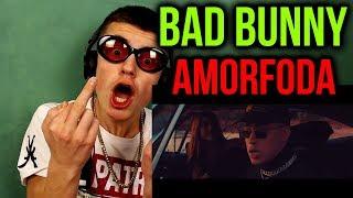 Bad Bunny - Amorfoda | Video Oficial (English Sub) - REACTION!!!