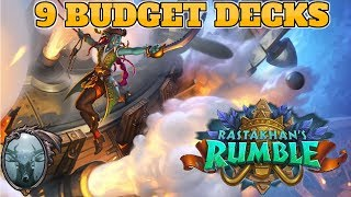 9 Budget Decks for Rastakhan#39s Rumble Free to play decks for new expansion Cheap Hearthstone