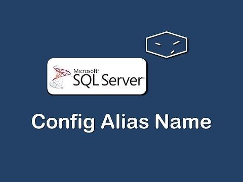 Configure Alias Name For Sql Server Instance