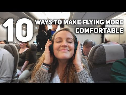 10 Ways to Make Flying More Comfortable