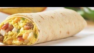 Triple Play Breakfast Burrito  Don Miguel