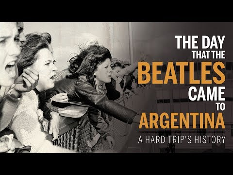 The day that The Beatles came to Argentina