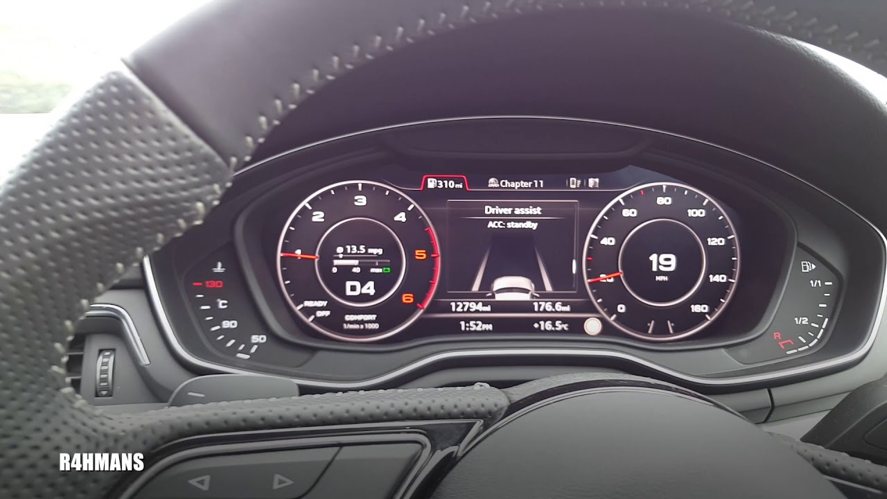 Video In Motion Audi A4 Drive Video With V I M Youtube