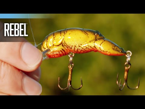 How To Fish The Rebel Middle Wee Crawfish
