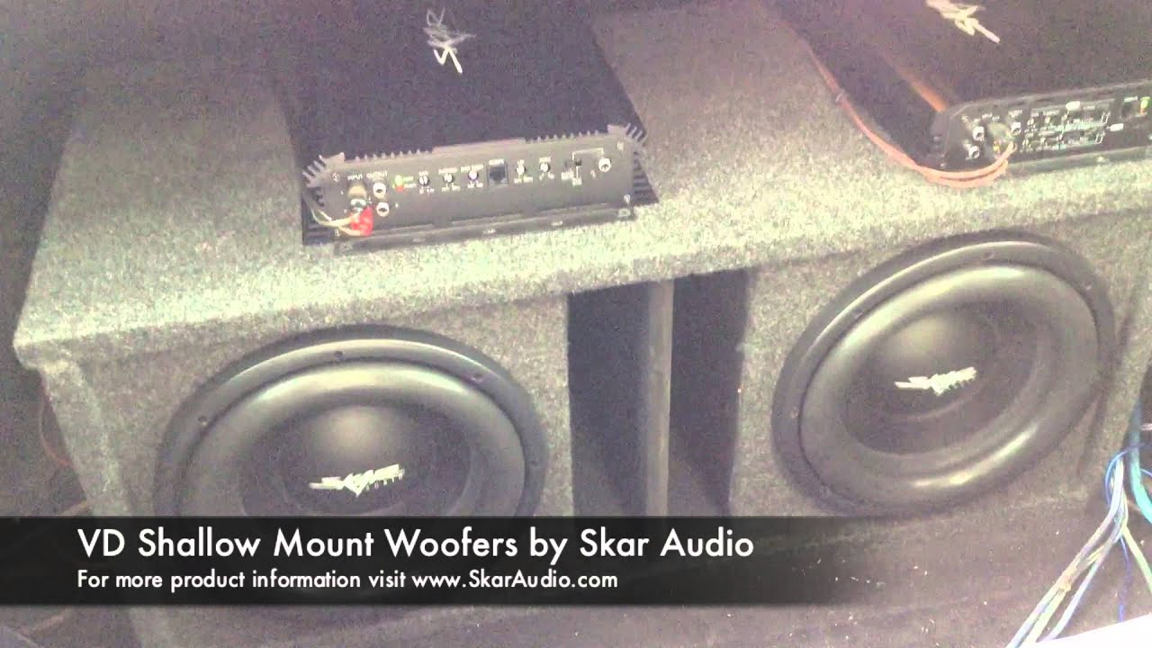 Skar Audio Dual Ported Vd 10 Subwoofer Setup Clean Loud Youtube Wiring