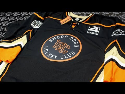 SNOOP DOGG X PUCK HCKY -  LBC Hockey Club  (black 6dbbb80e3