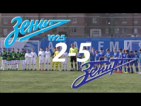 СШОР Зенит 2008 - ФК Зенит 2008 | Детский футбол | Первенство СПб по футболу U11 | (2 тур)
