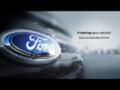 Manual Seat Adjustment Knowing Your Vehicle Ford Canada - YouTube