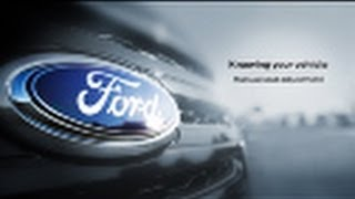 Manual Seat Adjustment  | Knowing Your Vehicle | Ford Canada
