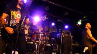 Prong - Turnover, Live In Manchester, UK, 2nd April 2014 (2cam mix)