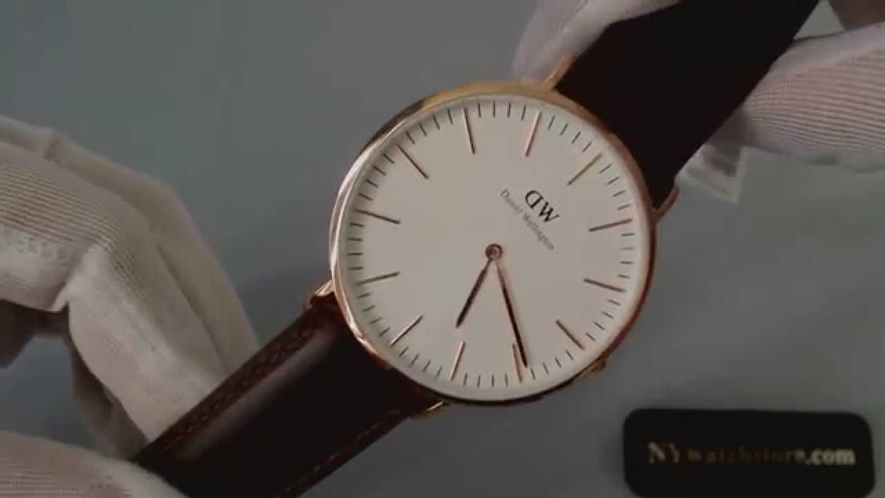 men s daniel wellington classic bristol watch 0109dw