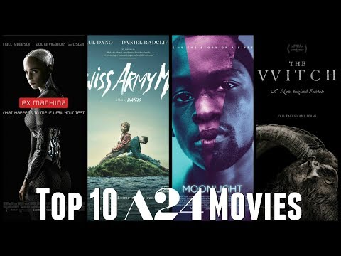 Download Youtube: Top 10 A24 Movies