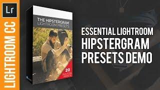 Hipstergram Lightroom Preset Pack Demo