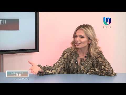 TeleU: Dan Daniel la Studenții de ieri cu Silvia Gherasim